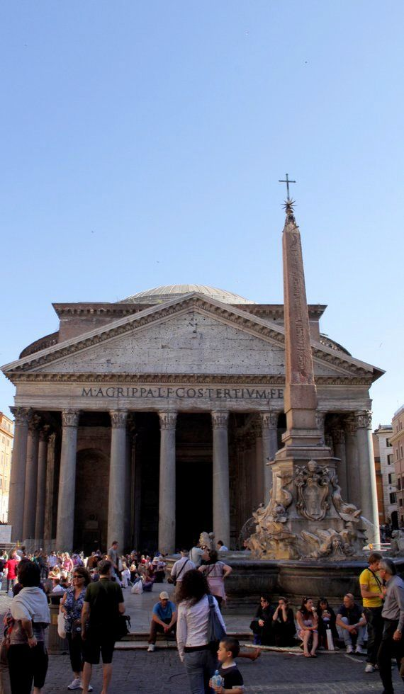 Pantheon, Rome, Italy | Flickr - Photo by Rome Cabs