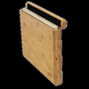 Bamboo laptop case