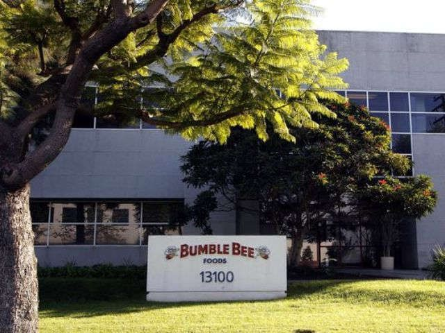 Bumble Bee Foods charged after man cooked with tuna