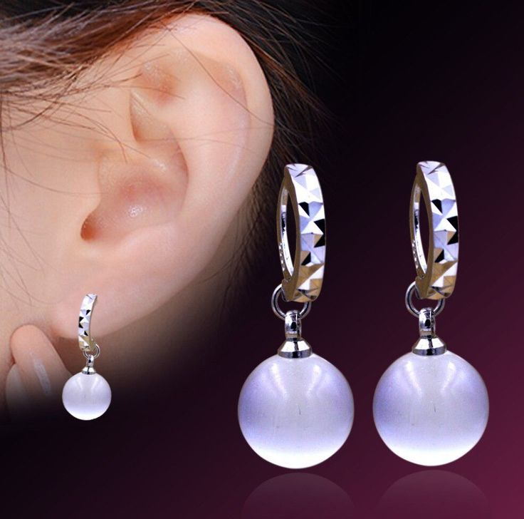 Earrings Model Quality Chinese Directly From China Earring Suppliers Penntes Natural Opal Moon Light Stone Pendants