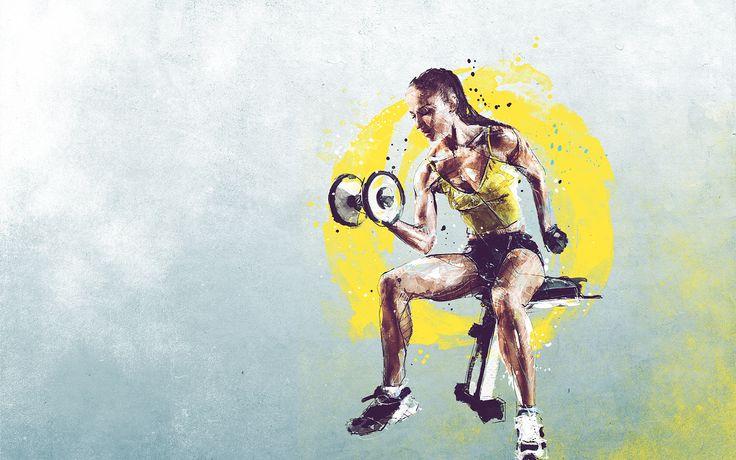 https://www.behance.net/gallery/60767279/Sport-illustrations