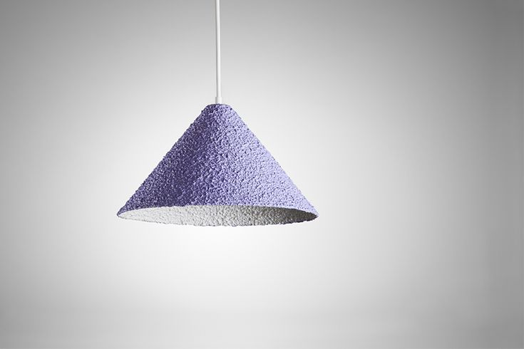 yuval tzur spritz hanging lamps embody an earthy texture
