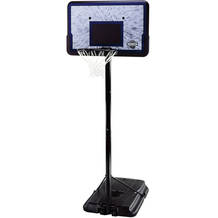 """44"""" Portable Adjustable Height Basketball System, with Backboard – Vick's Great Deals"""