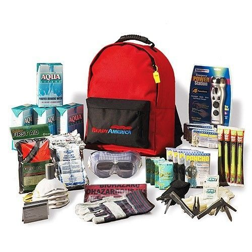 Emergency Backpack Kit Food Water First Aid Survival Bag Medical Travel Camping  #GRABNGO