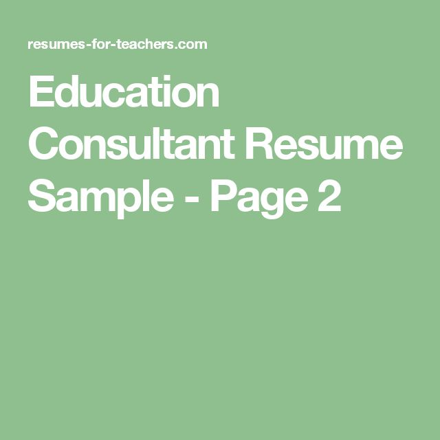 21 best Classroom Instruction Ideas images on Pinterest - special education consultant sample resume