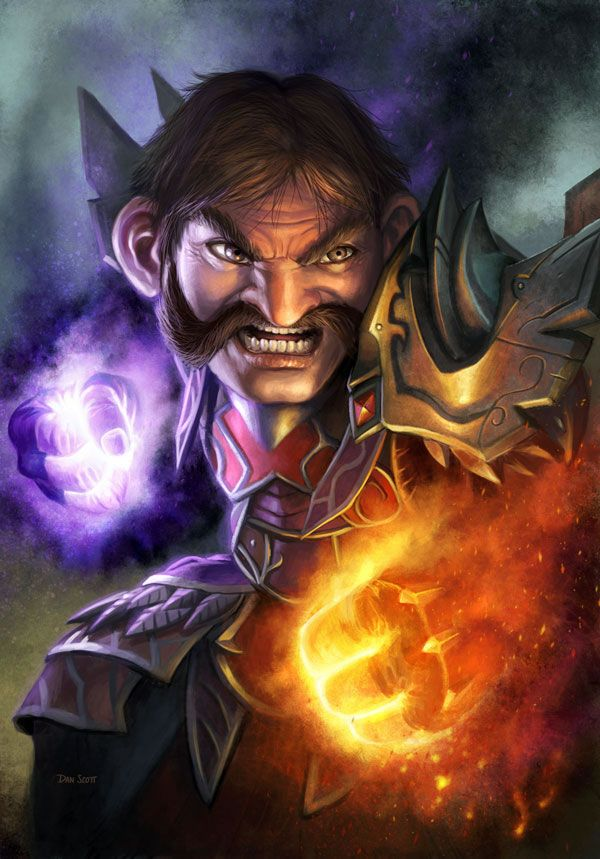 The Fantastic World of Warcraft Illustrations of Dan Scott | Psdtuts