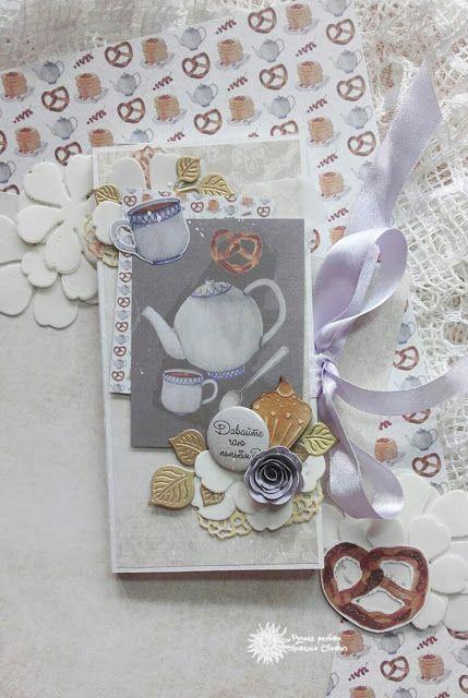 Бумажный уголок: МК по быстрой шоколаднице от Натальи Свитыч.
