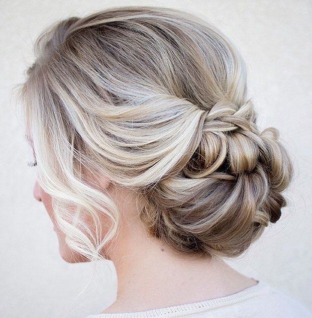 wedding hairstyle idea; Via Hair and Make-up by Steph: