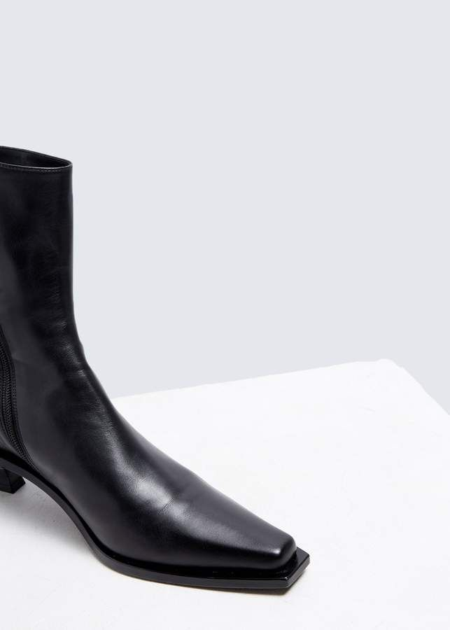 Ann Demeulemeester Kitten Heel Ankle Boot Kitten Heel Ankle Boots Boots Ankle Boot