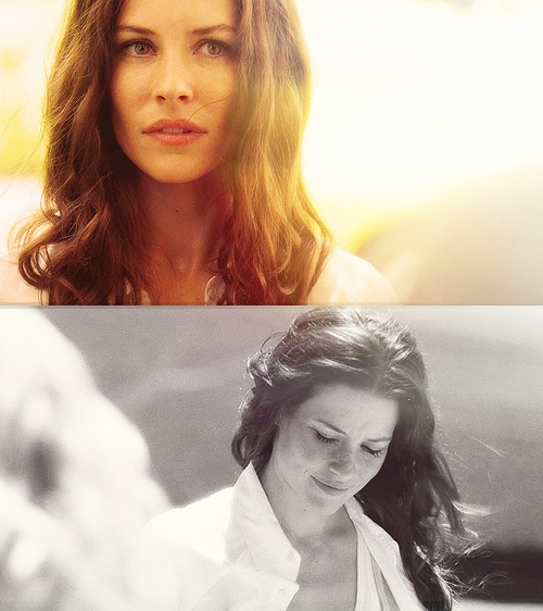 My girl crush, Evangeline Lilly. Kate from 'LOST'.