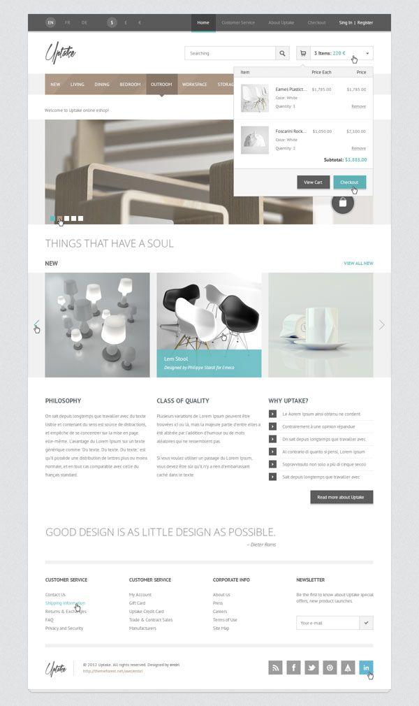 Uptake WooCommerce WordPress Shop Theme by Entiri