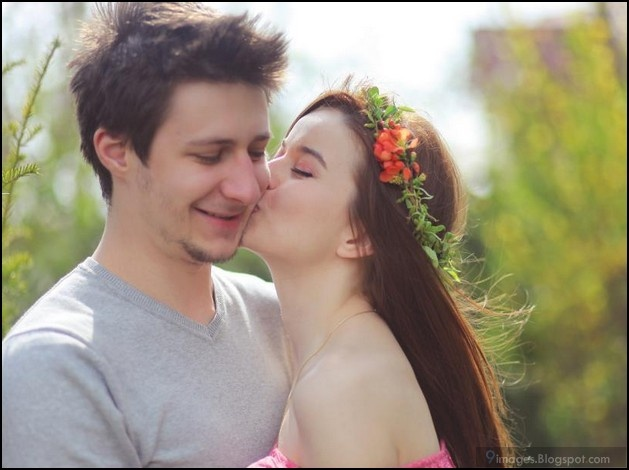 cute couple kissing | Love Dreams | Pinterest