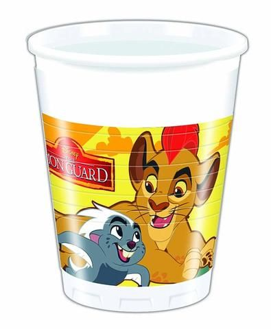 The Lion Guard Plastic Cups - Pack Of 8