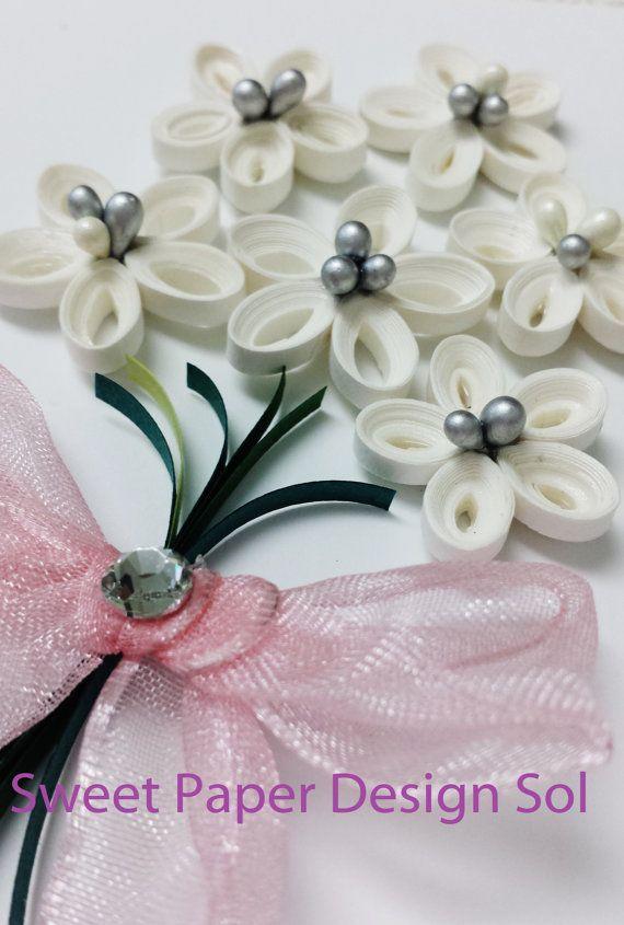 paper quilled Wedding Anniversary birthday by SweetPaperDesignSol