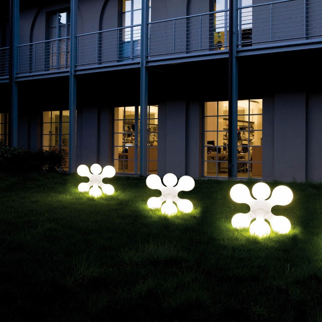 Unusual Outdoor Lighting Unusual outdoor lighting suspend umbrellas with lights for a mary unusual outdoor lighting modern outdoor lights kundalini atomium lamp stardust design unusual lighting workwithnaturefo