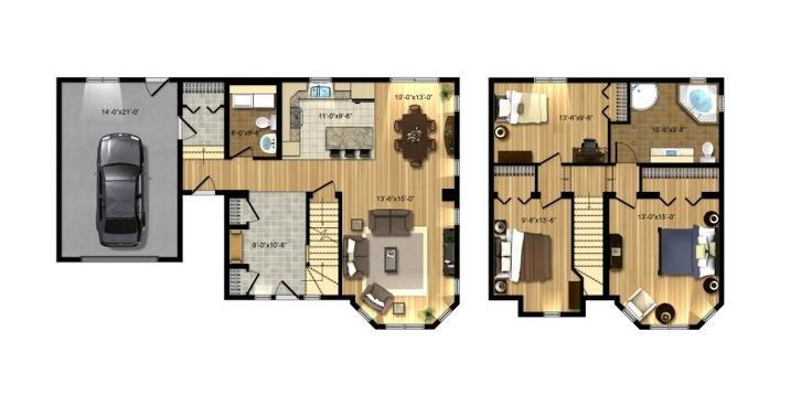 Les maisons bonneville plan virginie dream home pinterest for Virginie maison