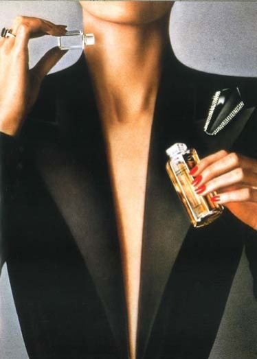 Jean-Louis Scherrer original perfume ad, 1979