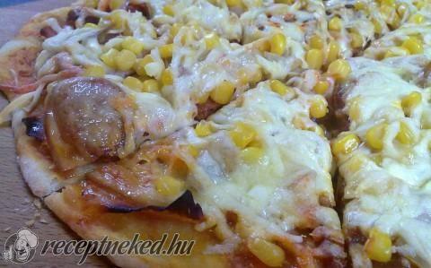 Gyors bögrés pizzatészta recept fotóval