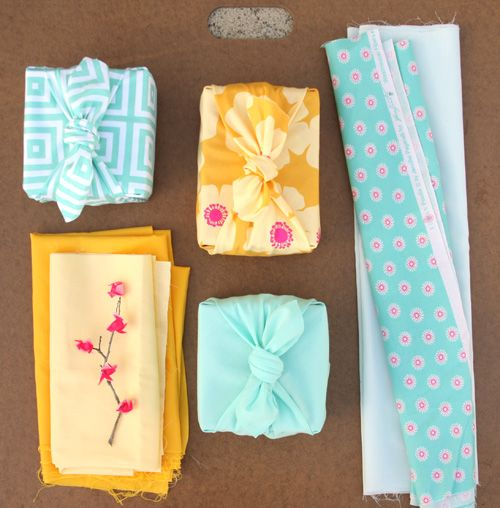 Cloth Wrap Tutorial - quick and dirty furoshiki