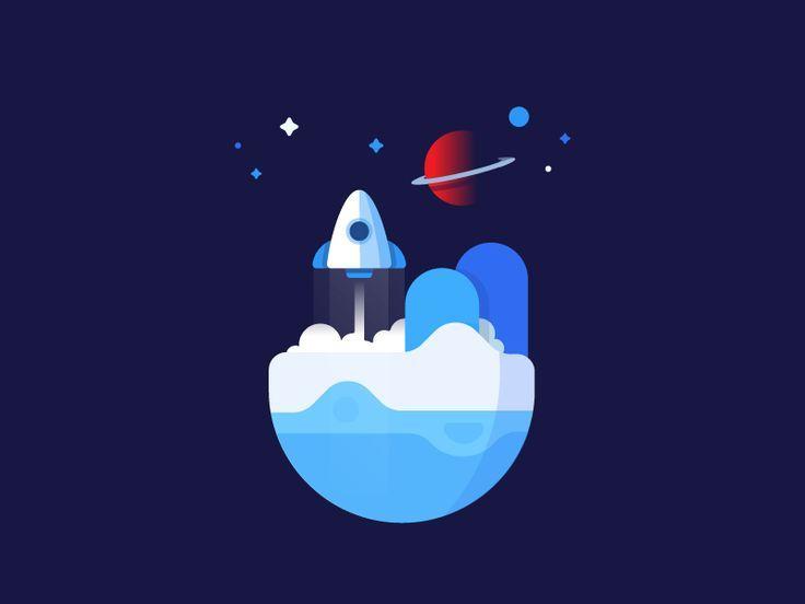 Image result for rocket flat design | Itemku Mood Board