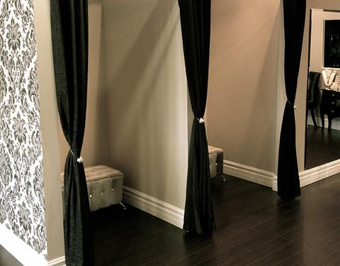 Pop-Up Fitting Room for Quick Change | Amenities: Fitting Room ...