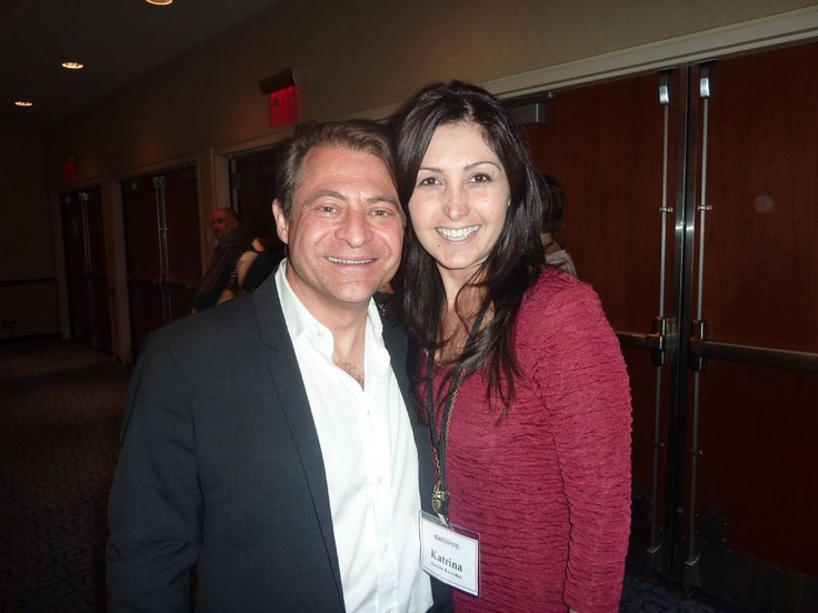 Me with Peter Diamandis (CEO of X Prize Foundation ) - Peter is amazing! He has a wealth of knowledge and is such an inspiration- a MUST to connect with!!!