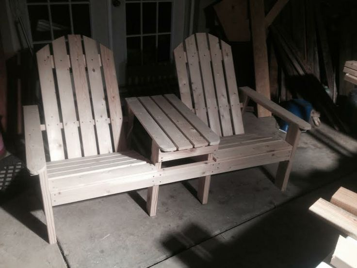 106 best images about wood lawn furniture on pinterest for Adirondack side table plans