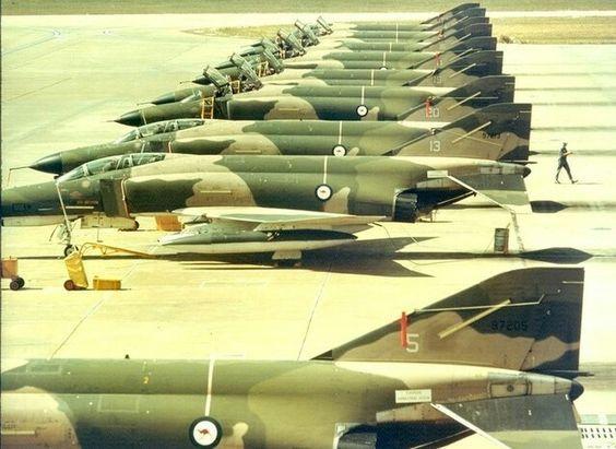 RAAF F-4E Phantom II