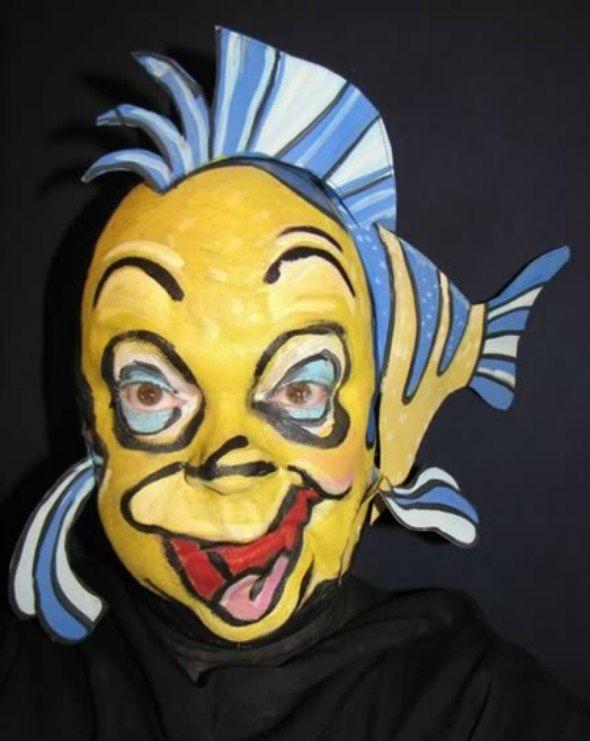 flounder halloween makeup