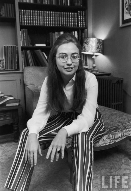 Hilary Clinton, 1969