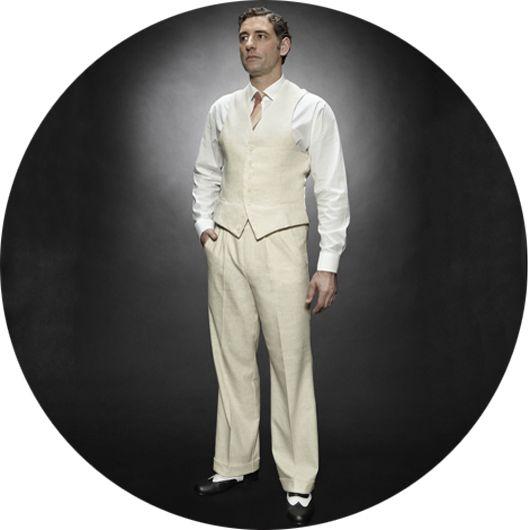 1940s fashions for men the casablanca mens trouser