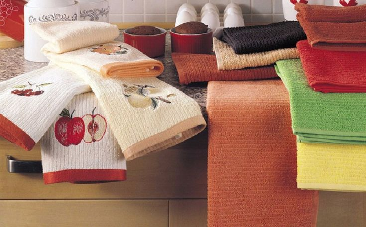 Как отстирать кухонные полотенца в микроволновке: лучший способ. — Полезные советы