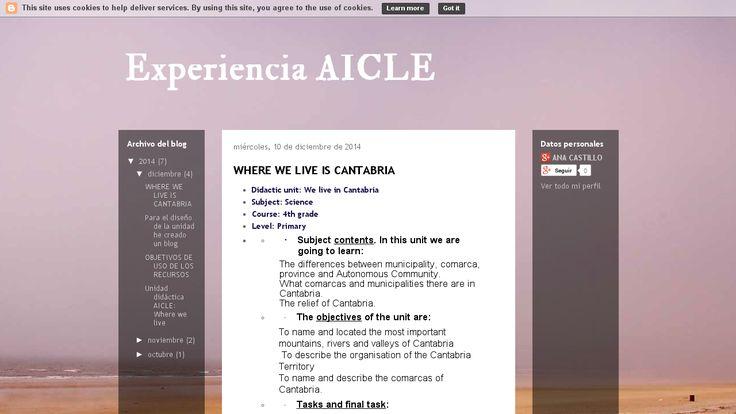Portfolio. Así fue mi paso por AICLE por Ana Belén Castillo