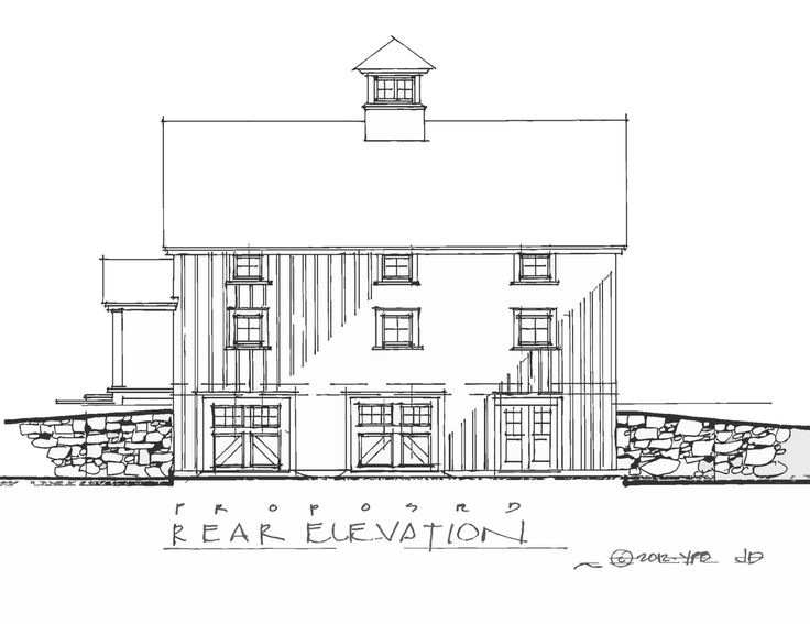 Carriage house plan for retail and residence retail barn Carriage barn plans