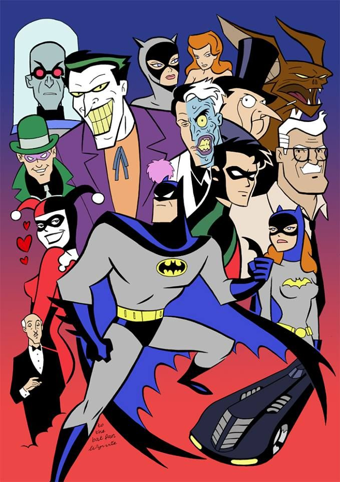 Animated Batman, One Of My Favourite Shows As A Child. Still Brilliant Today...