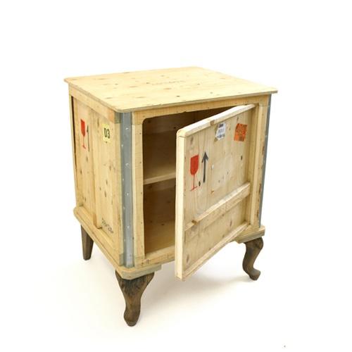 Recycled Shipping Crate R E C Y C L E ♺ R E U S E