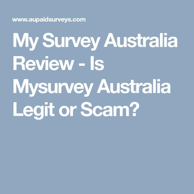 My Survey Australia Review - Is Mysurvey Australia Legit or Scam?