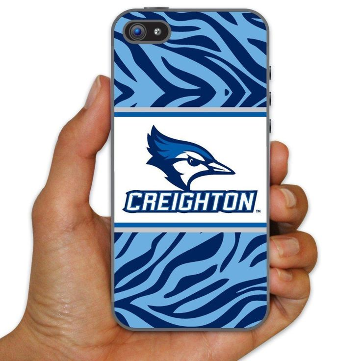 Creighton University Clear Plastic Slim Case for iPhone 5c - Zebra