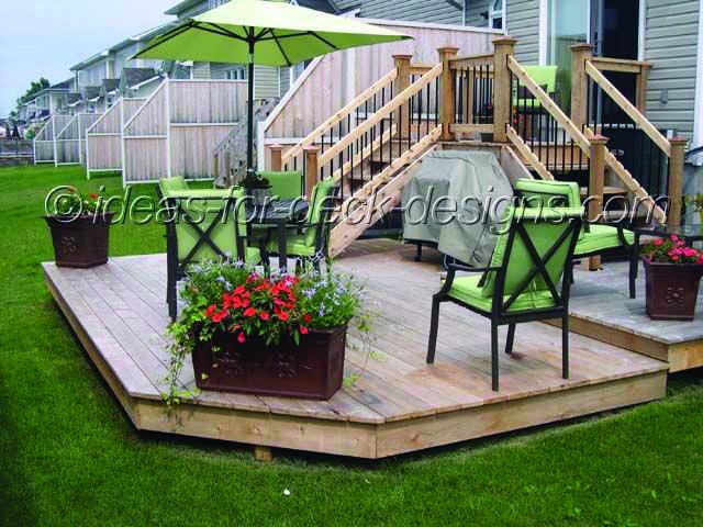 10 Beautiful Easy Diy Backyard Decks Deck Designs Backyard