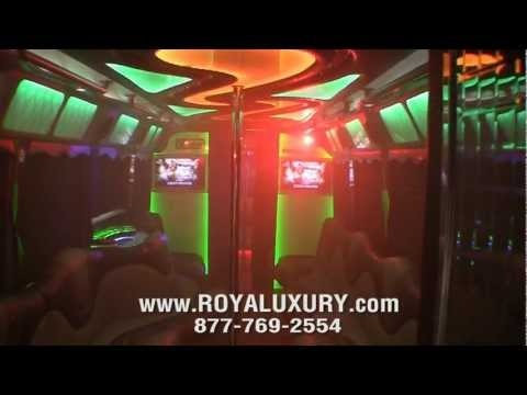 2012 VIP Lounge Party Limo Bus by ROYALUXURY.com