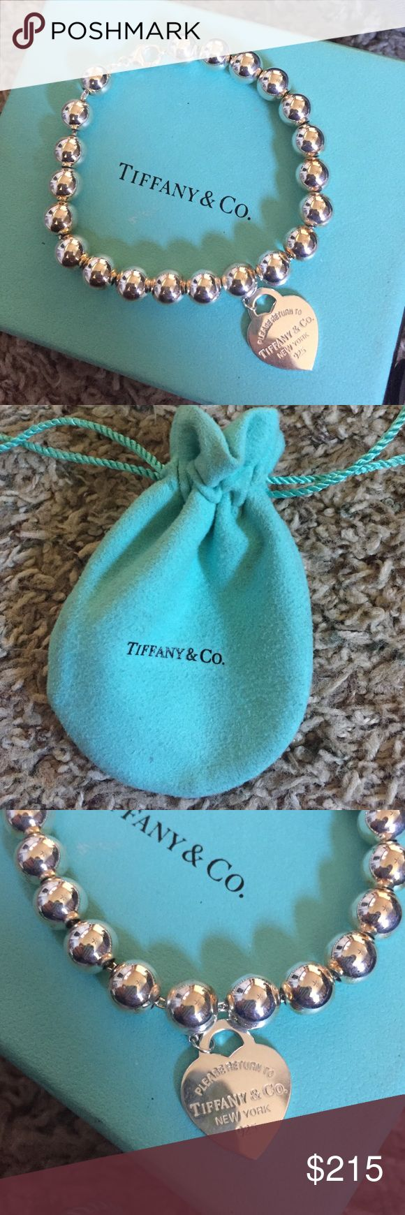 Elegant Tiffany Bead Bracelet