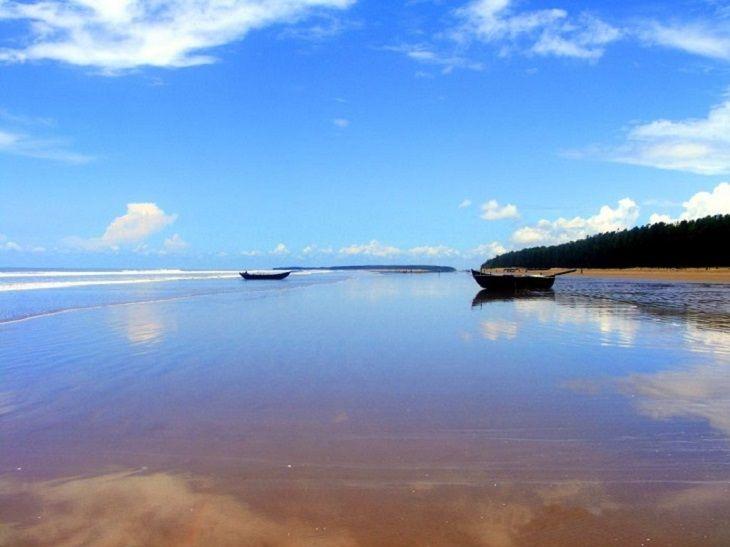 lugares belos da Índia - Praias de Bengala Ocidental