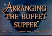 The American tradition of the buffet supper is shown in its simple preparation. A must for the homemaker or hostess. One of the satellite films that...