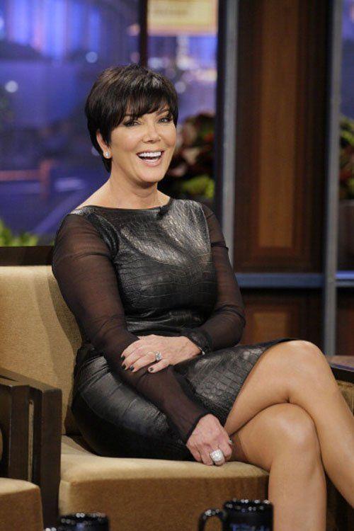 kris jenner vs khloe kardashian in emilio pucci black croc embossed leather dress | It Better? Kris Jenner vs. Khloe Kardashian in Emilio Pucci's Black ...