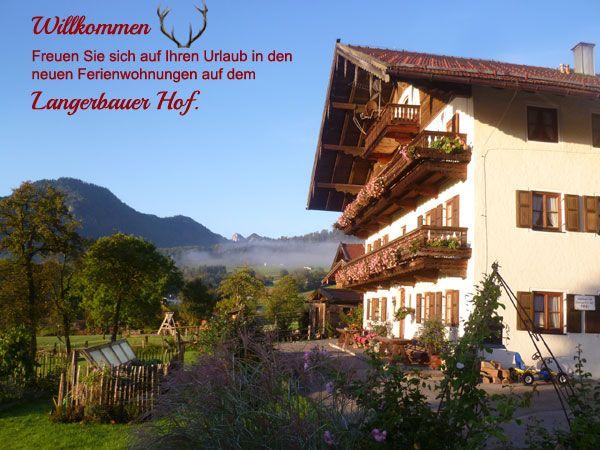 Ferienwohnungen Langerbauerhof  in Inzell ,#Touris-mus,#Unterkunft,#Ferienwohnung,#Chiemgau,#Inzell,