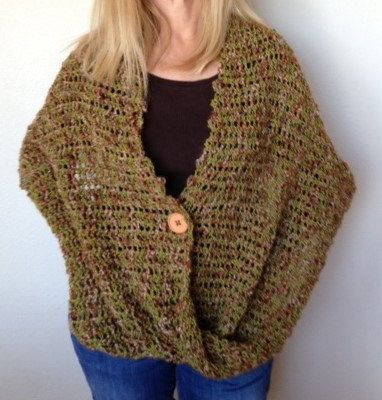 Loom Knit Vest Pattern : 17 Best images about Loom knit wearables on Pinterest ...