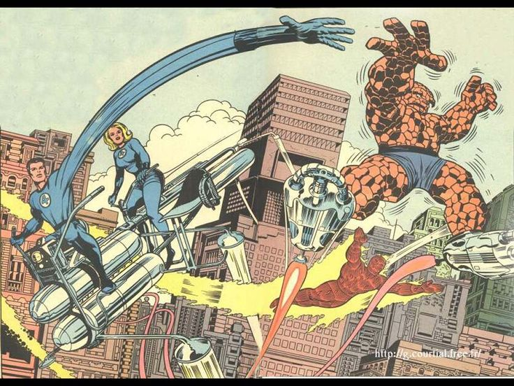 Comics Wallpaper: Jack Kirby - Fantastic Four