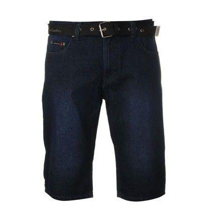 Pierre Cardin Web Belt Shorts Mens