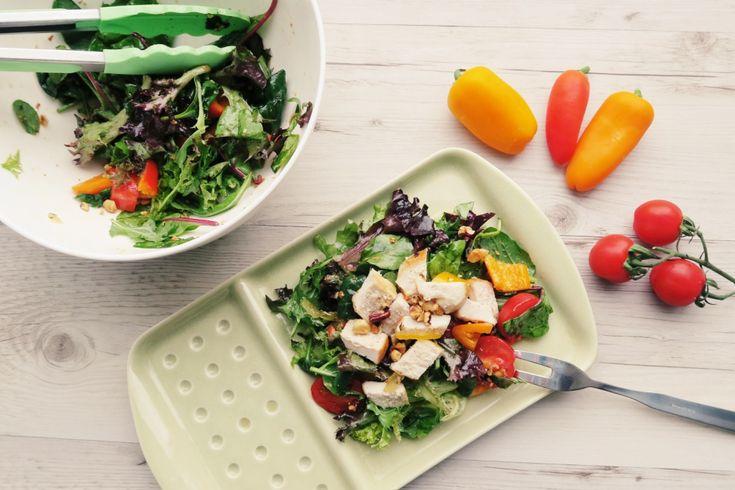 Tender Chicken Breast Yuzu Sauce Salad Recipe
