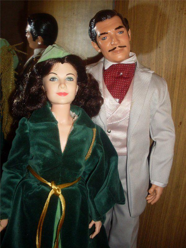 Скарлетт и Ретт Батлер. Портретные куклы. / Коллекционные куклы (винил) / Шопик. Продать купить куклу / Бэйбики. Куклы фото. Одежда для кукол